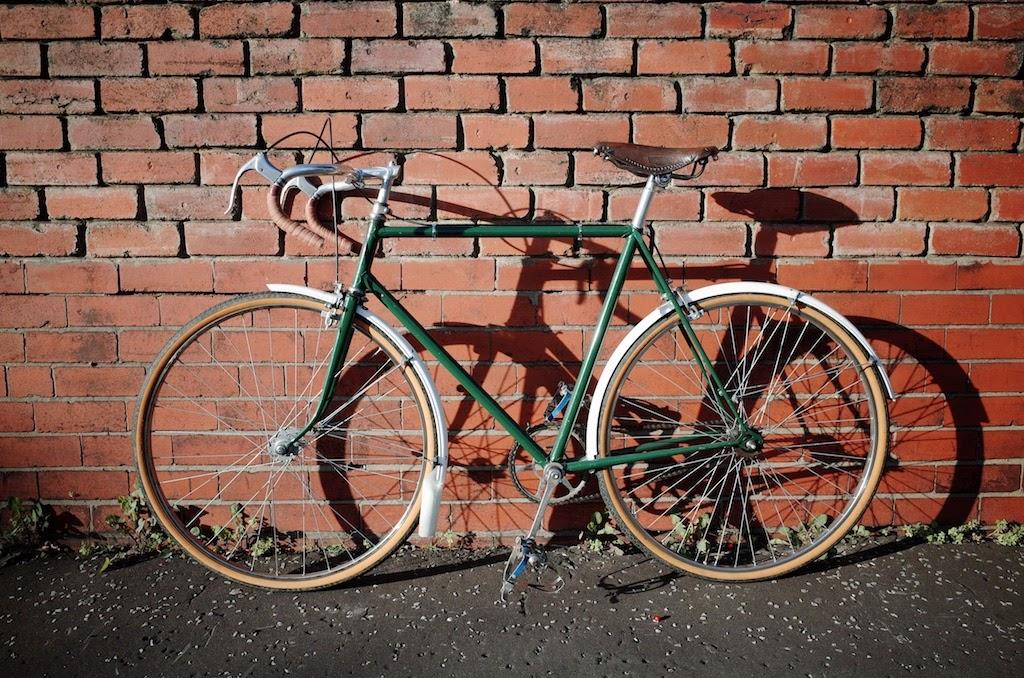 Bike from left side