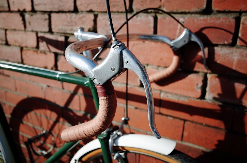 Handlebars and brake levers